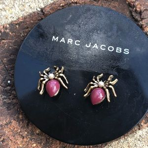 Marc by Marc Jacobs Spider stud earrings